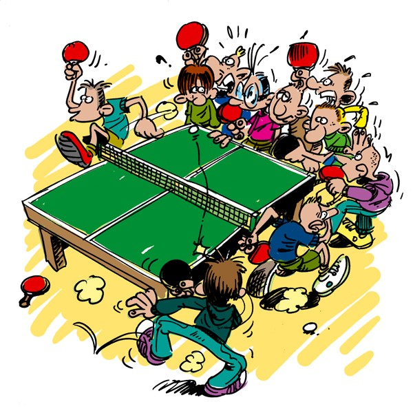 tournante tennis de table